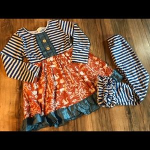 Matching Sets - New boutique ruffle outfit